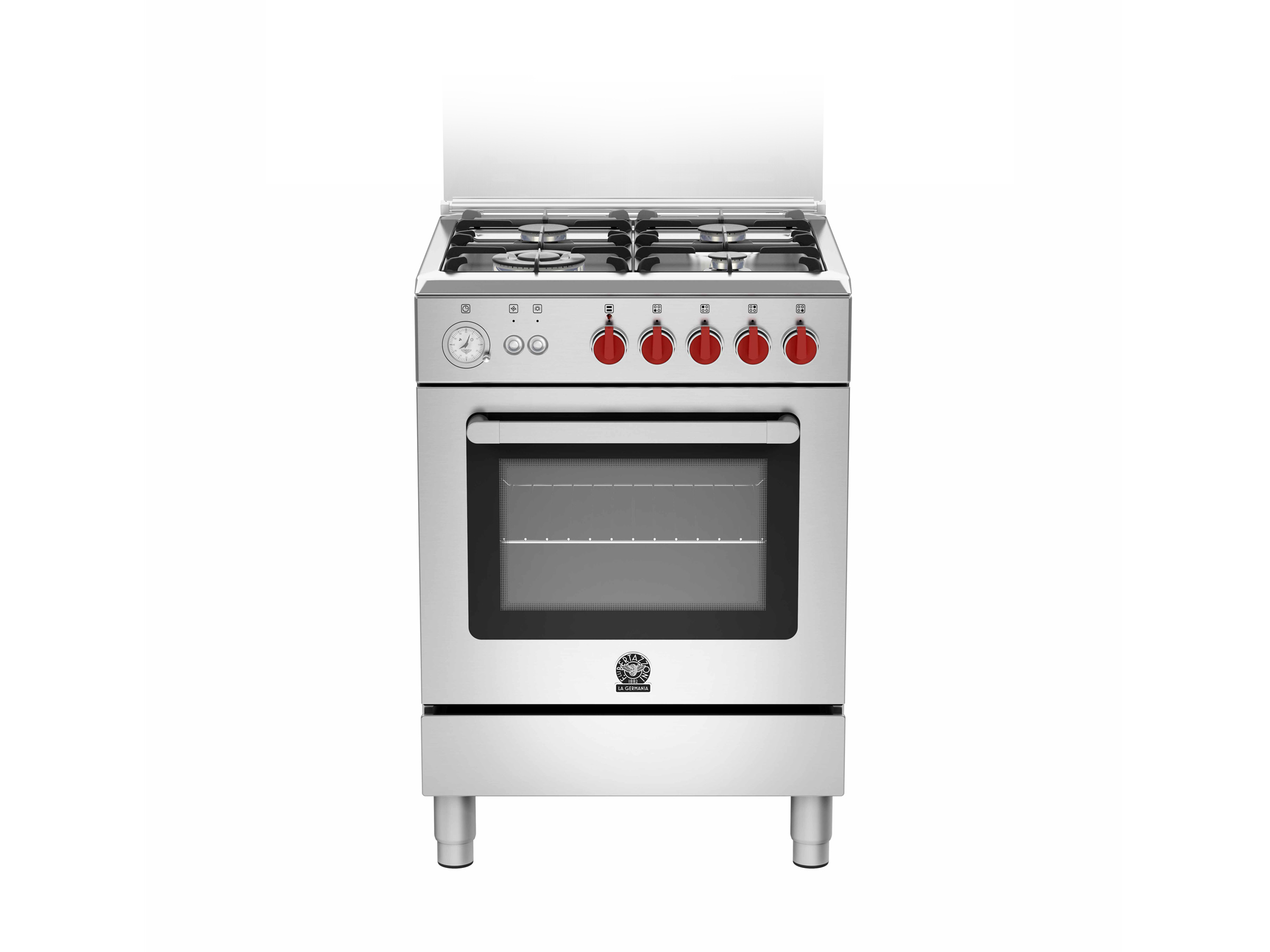 60 4-Burners Gas Oven CX | Bertazzoni La Germania - Stainless
